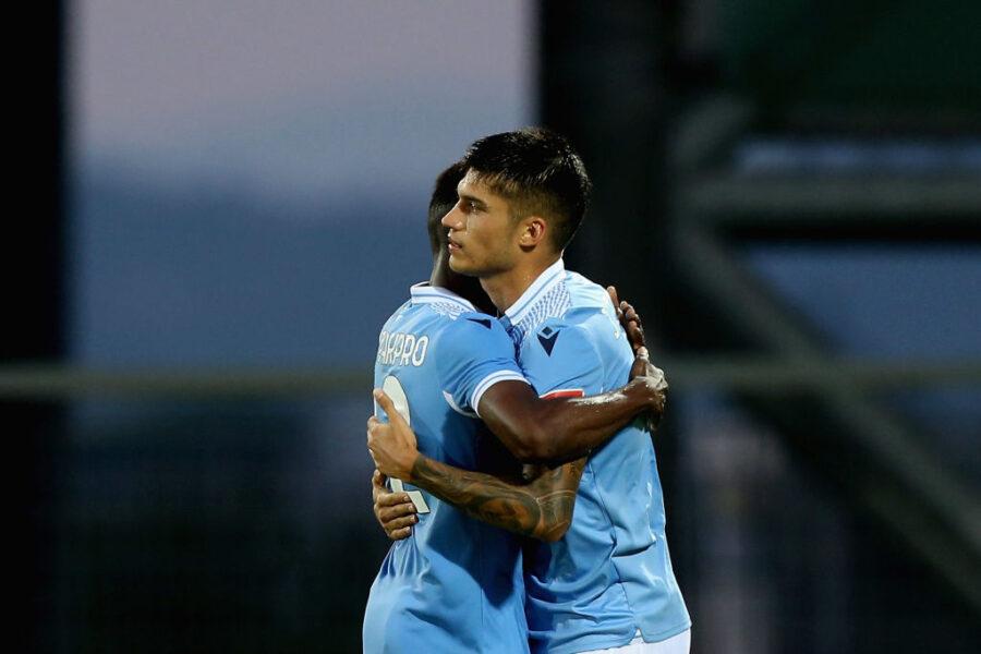 Milinkovic e Luis Alberto out, la Lazio non brilla: 1-0 al Frosinone, segna Correa. Acerbi c'è