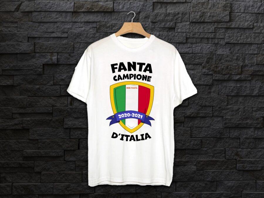 Hai vinto il fantacalcio? Ecco la nuova maglia celebrativa di SOS Fanta per i campioni: è tornata!