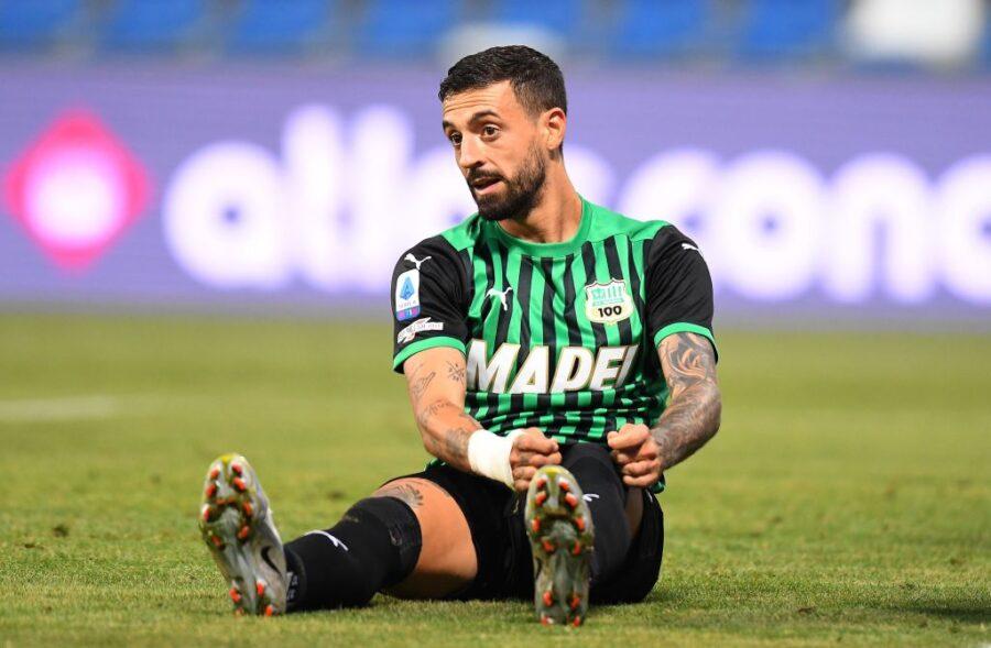 Sassuolo, Caputo e Defrel ancora a parte verso l'Inter. Rallentano anche Berardi e Djuricic