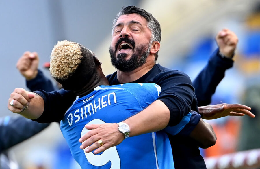"""Gattuso: """"Juve? Ho rosicato, volevo partire! Bakayoko è forte, altro che lite. Per Osimhen…"""""""