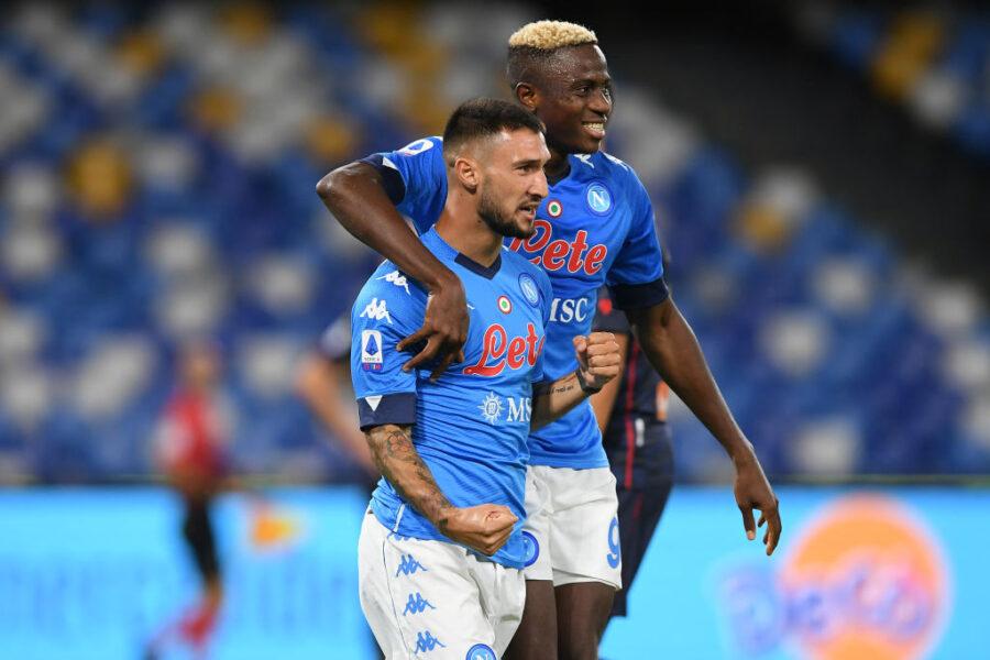 Napoli, scatta il turnover contro la Samp: dal portiere e la difesa a Osimhen