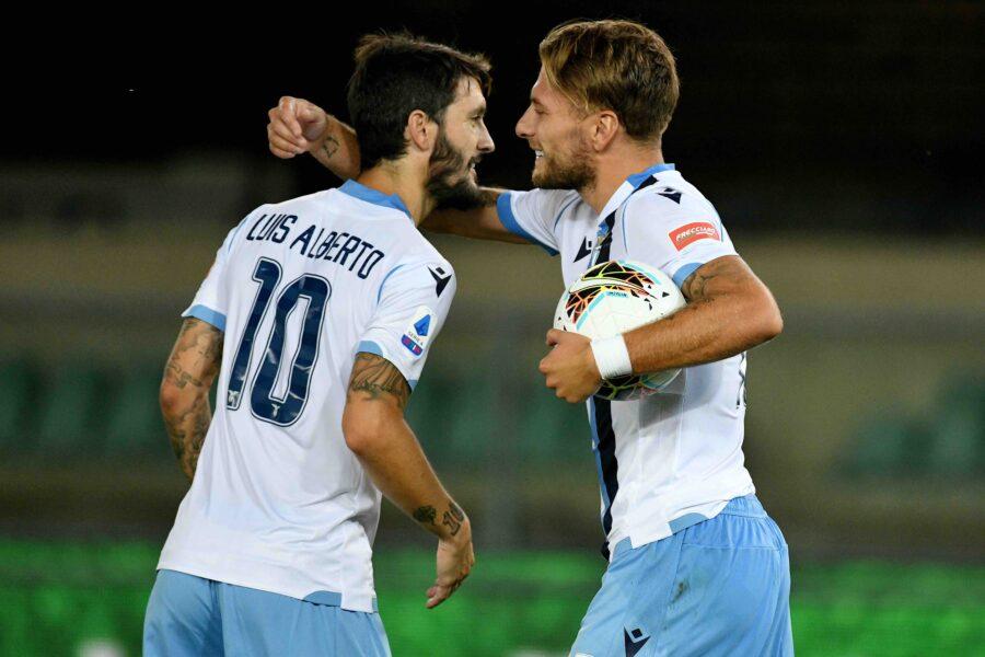 Crotone-Lazio, formazioni ufficiali: la scelta su Luis Alberto! Immobile c'è, gioca Reca