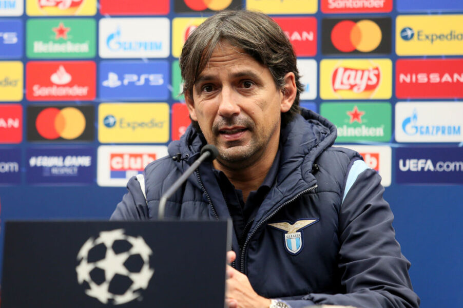 """Parla Inzaghi: """"Lazio-Bayern è la sfida tra i due attaccanti più forti in circolazione"""""""