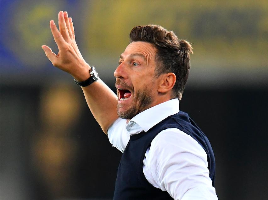"""Di Francesco: """"Faraoni out. La decisione sul portiere, Cancellieri, Kalinic deve fare gol!"""""""
