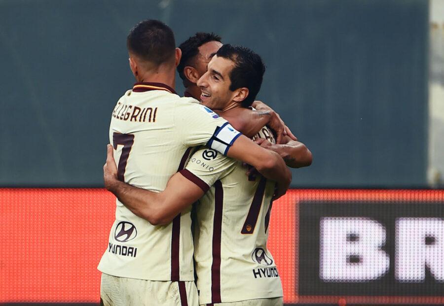 Formazione Roma, i cambi tra infortuni e turnover: da Mancini a Perez e Mkhitaryan