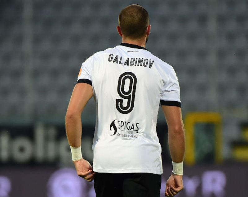 Spezia, il rientro di Galabinov è ancora lontano: quante partite salterà sicuramente