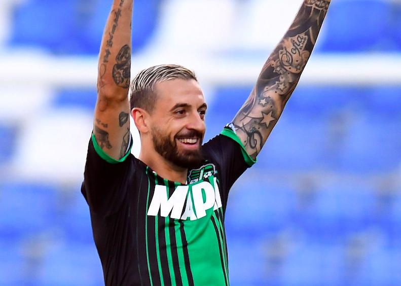 """Sassuolo, la Gazzetta: """"Caputo va verso il forfait. Djuricic, Defrel e le scelte in arrivo"""""""