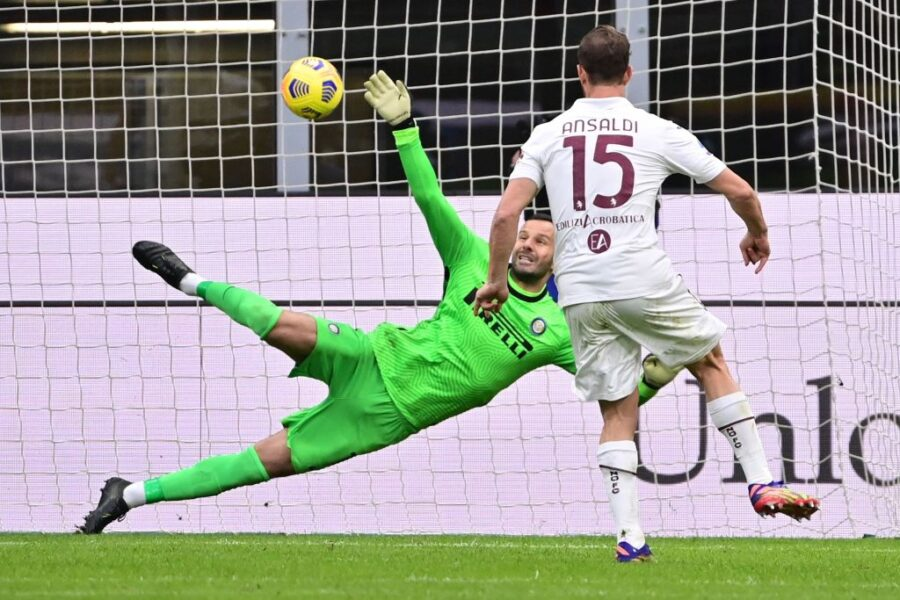 Torino, rigorista a sorpresa contro l'Inter: senza Belotti tira Ansaldi