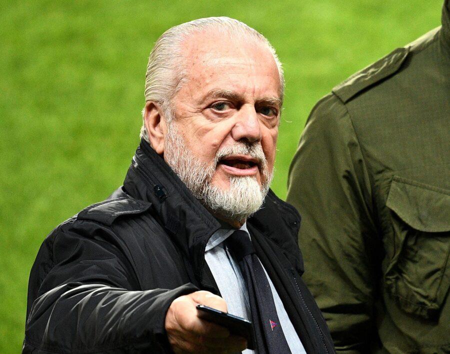 """De Laurentiis annuncia: """"Un'idea è chiamare il San Paolo con il nome di Diego Maradona"""""""