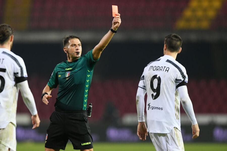 FLASH – Juve, espulsione al fischio finale col Benevento: cosa succede col  malus a Morata – SOS Fanta