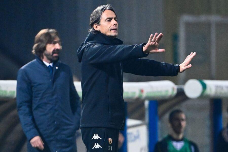 """Inzaghi: """"A Pirlo ho detto: ma chi te l'ha fatto fare?"""". E l'allenatore della Juve ha risposto così"""