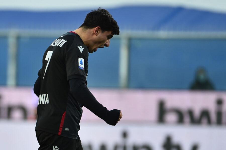 Bologna-Spezia, formazioni ufficiali: Orsolini torna titolare, via libera a Nzola