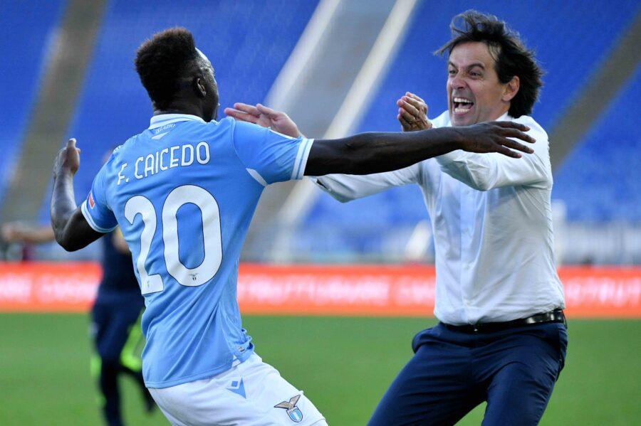 """Lazio, stop Caicedo e ora attenti al portiere! Inzaghi: """"Due in dubbio, Strakosha adesso…"""""""
