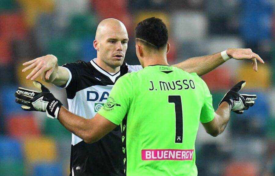 Udinese, Gotti ritrova Nuytinck. Le ultime sui recuperi di Okaka e Forestieri