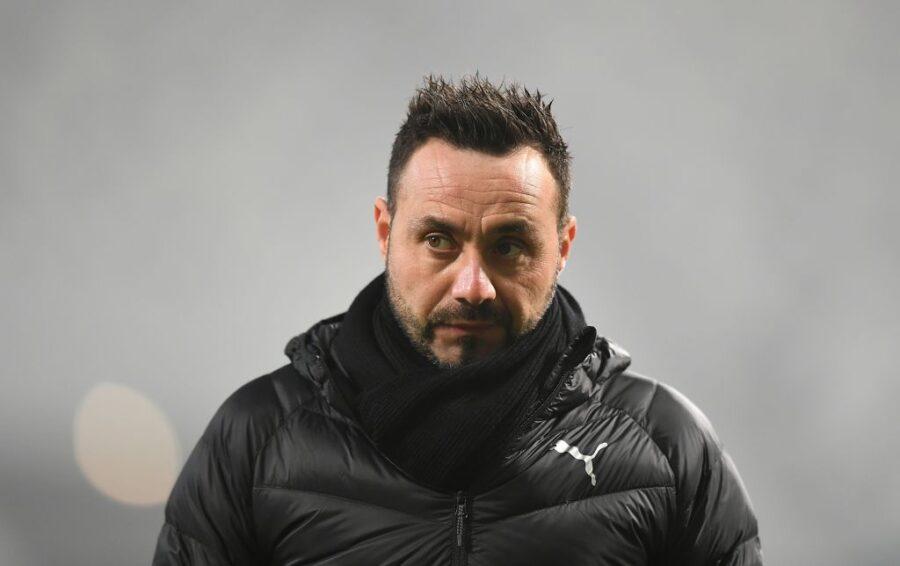"""De Zerbi: """"C'era rigore, Irrati non mi piace. Traoré può diventare un top player assoluto"""""""