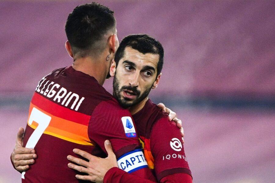 """Sky: """"Mkhitaryan, la Roma ora è in apprensione per il rinnovo perché l'armeno…"""""""