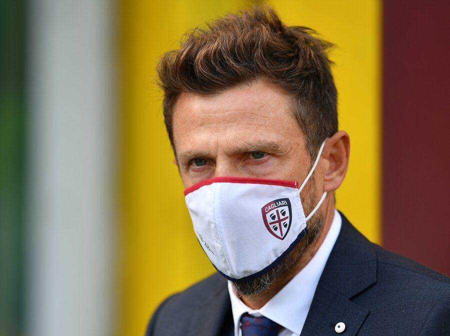 """Di Francesco: """"Godin ci manca, mi aspettavo questo Nainggolan. Il rosso a Nandez…"""""""