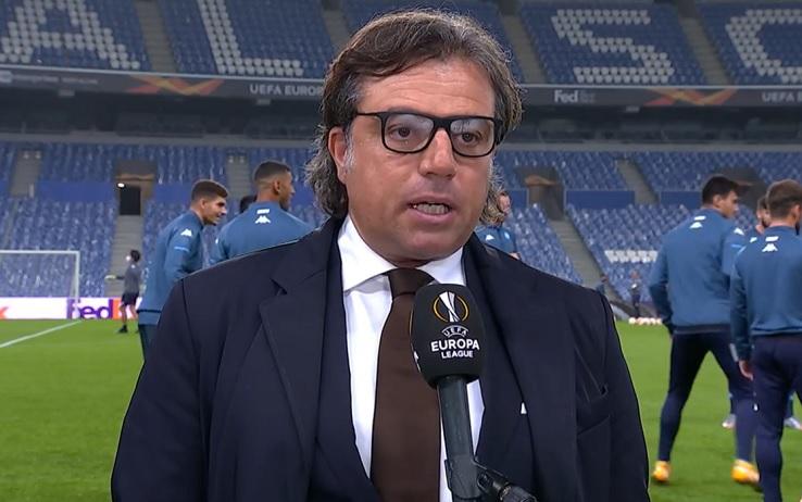"""Napoli, il ds Giuntoli: """"Zaccagni ci interessa. Milik via a gennaio? Ora la situazione è questa"""""""