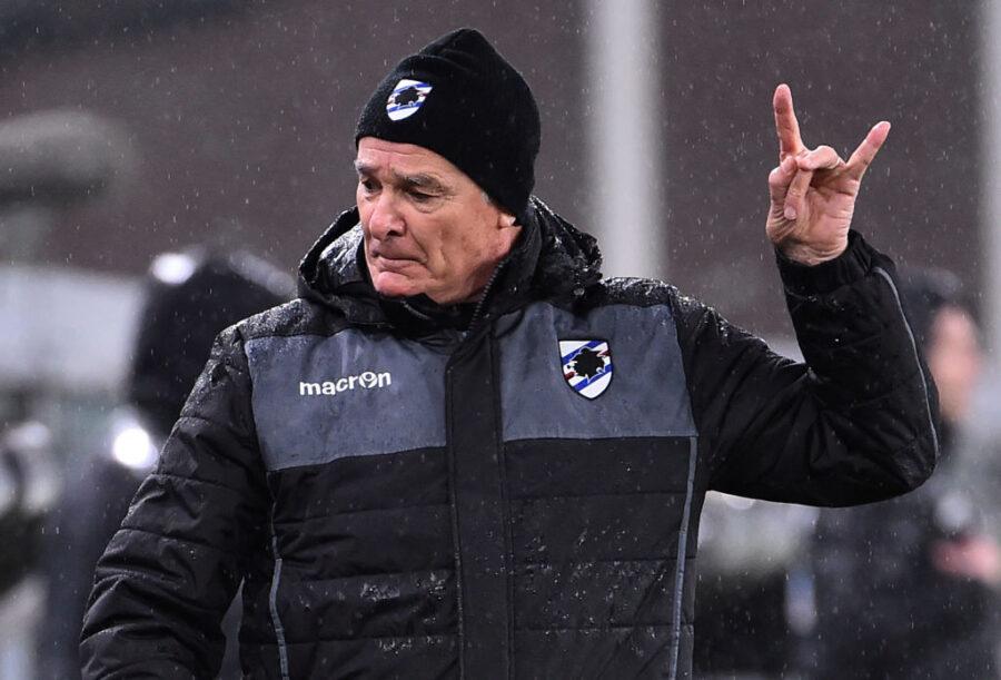 """Ranieri: """"Ho tolto Jankto perché era affaticato. Keita, Ramirez ora non sta bene"""""""