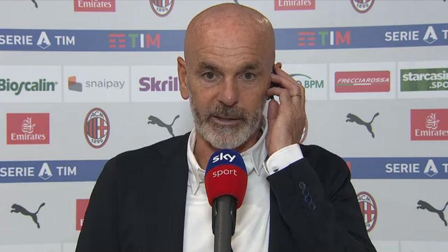 """Pioli: """"Il club mi sostiene! Ibra ora sta bene, Calhanoglu non ancora al pieno del potenziale"""""""