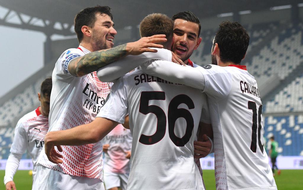 """FLASH – Sky: """"Calhanoglu e Theo non si sono allenati: in dubbio per il Cagliari"""""""