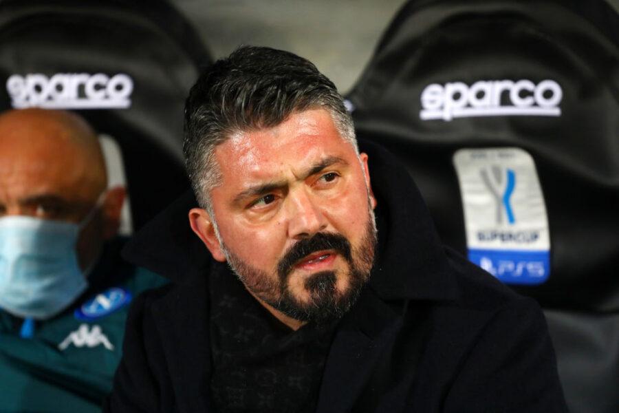 """Gazzetta: """"Gattuso e il Napoli, ora è finita davvero. Tutto sgretolato da Verona"""""""