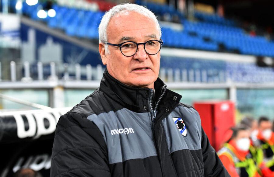 """Ranieri: """"Non guardate l'età di Quagliarella. Candreva? Ho fatto i cambi perché…"""""""