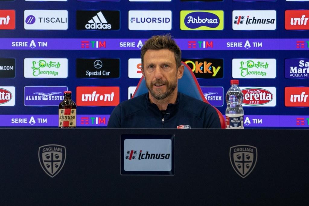 """Di Francesco: """"Nainggolan non è in forma. Pavoletti-Simeone, deciso il titolare! C'è Lykogiannis"""""""