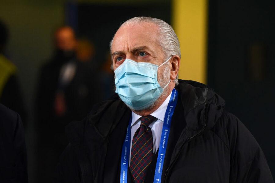 "De Laurentiis esalta il Napoli: ""Bravo Gattuso e bravi Lozano, Zielinski e Osimhen"""