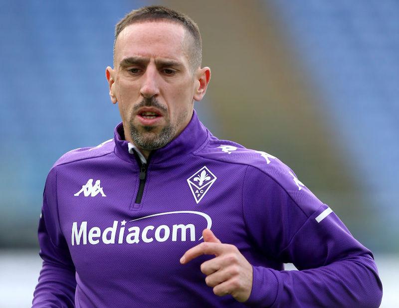 Fiorentina, sospiro di sollievo per Ribery: buone notizie dopo l'allenamento