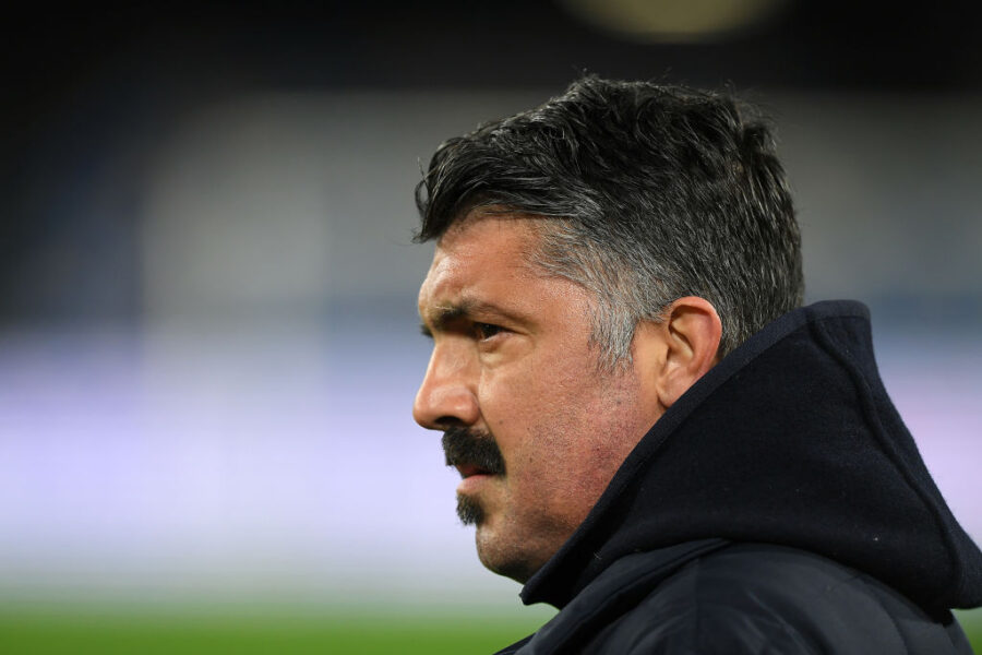 """Gazzetta: """"Esonero Gattuso, c'è la decisione di De Laurentiis: da ieri è su tutte le furie"""""""