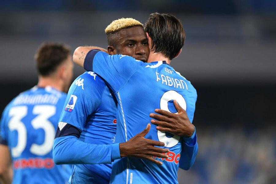 Napoli, la staffetta in attacco e la scelta su Zielinski: così la formazione con l'Inter