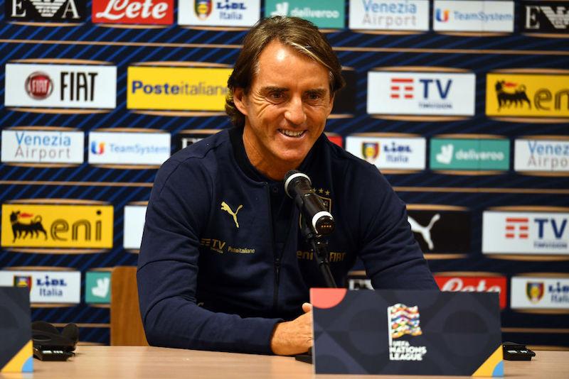 """Mancini: """"Uno stop nella Roma! Zaniolo, niente rischi. Toloi, Chiesa e i giocatori dell'Inter…"""""""