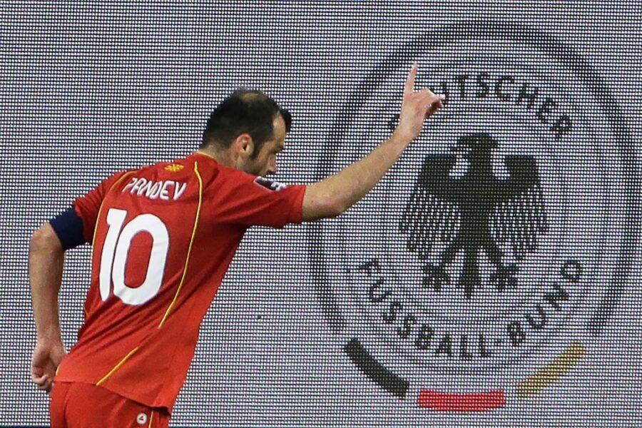 Pandev è immortale: gol in nazionale contro la Germania, ora se la giocherà nel Genoa