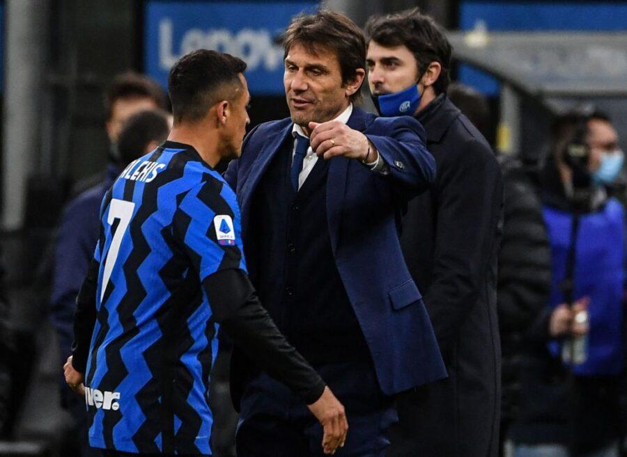 """Conte: """"Sanchez merita più spazio. Lukaku? Io non dimentico cosa si diceva quando è arrivato"""""""