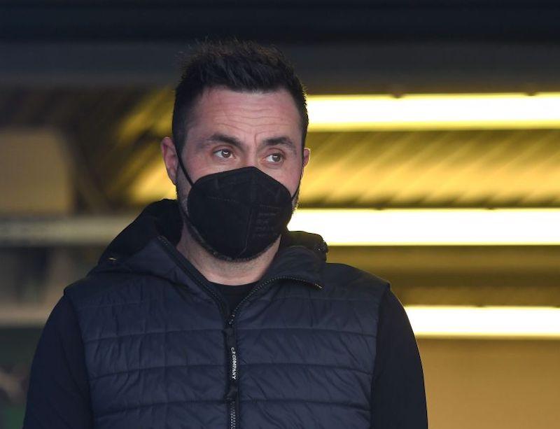 """De Zerbi: """"Caputo out, Djuricic gioca! Super Lega, non vorrei giocare col Milan: se il club…"""""""