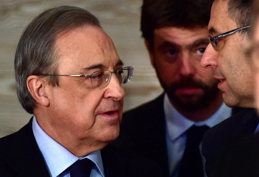 """Perez: """"Juve e Milan ancora nella Super Lega"""". Ceferin è furibondo: """"Agnelli diceva: che stronzate…"""""""