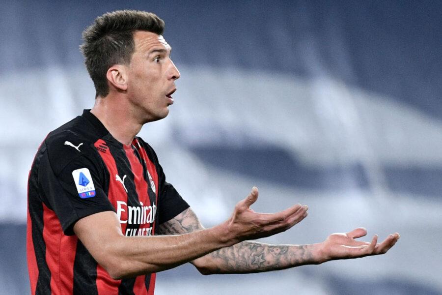 Milan, Mandzukic c'è: è guarito e torna a disposizione per la Juve. Ma in attacco…