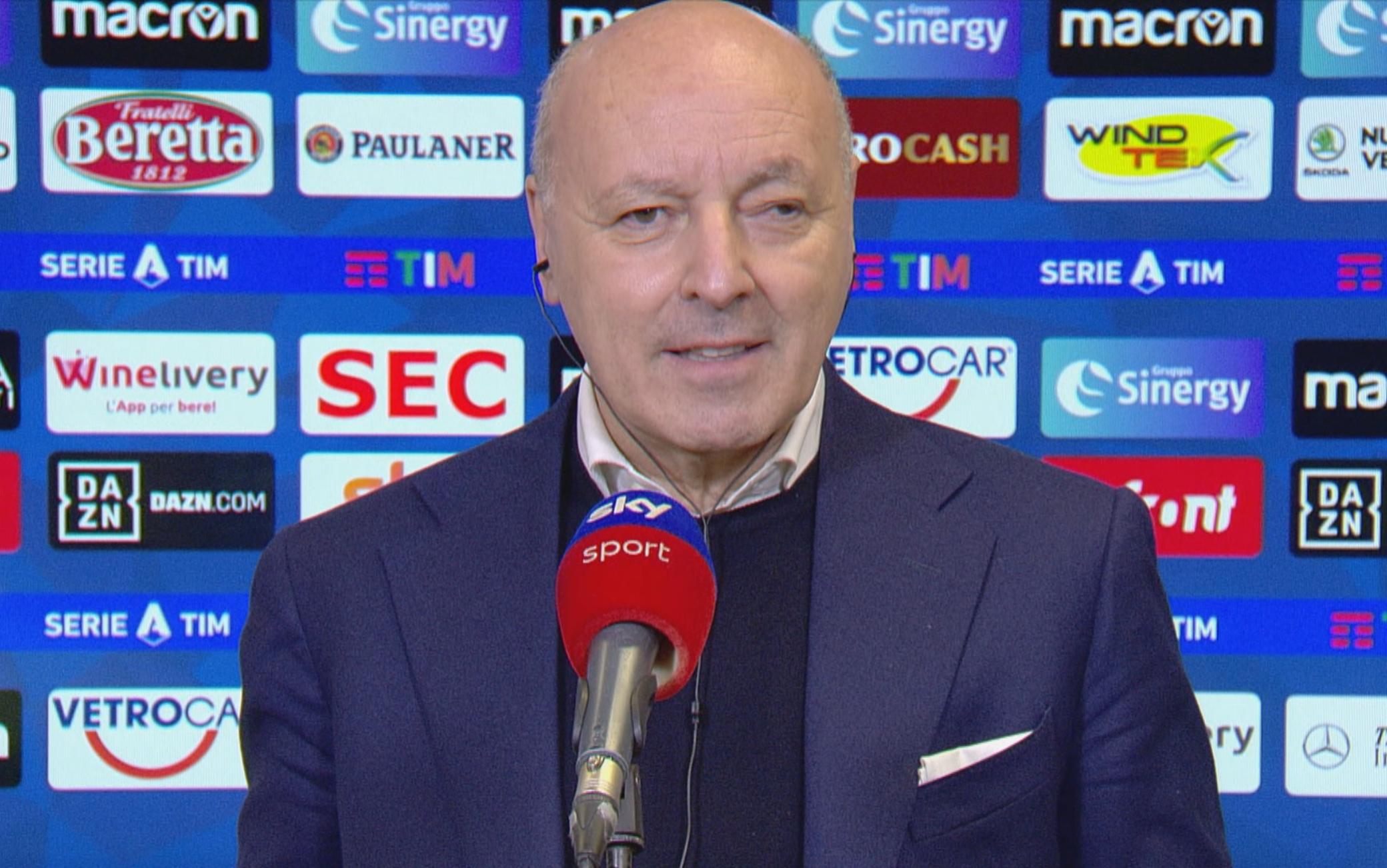 """Marotta: """"Conte si trova bene, ora spero resti all'Inter! Io tornerò alla Juve? Vi rispondo così"""""""