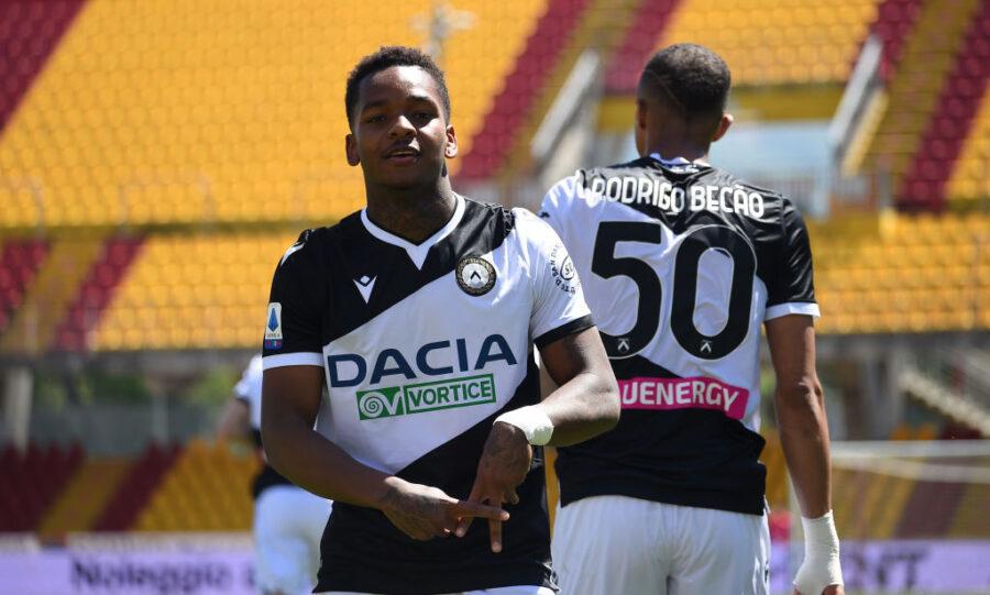 Udinese, sospetta rottura del crociato per il talento Jayden Braaf