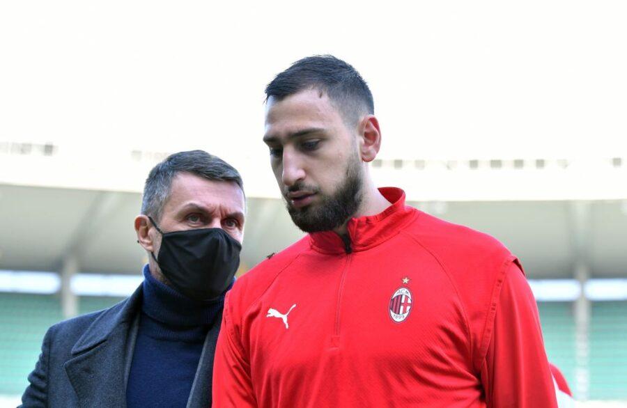 """Caso Donnarumma, Maldini: """"I tifosi non decidono chi gioca! È congelata ogni trattativa per i rinnovi"""""""