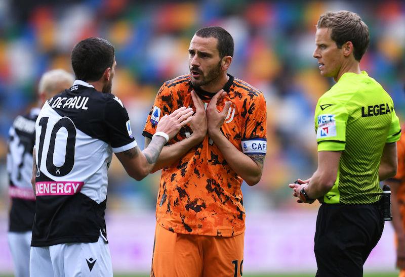 """Bonucci: """"Scudetto Inter, ci abbiamo messo del nostro. Ma la Juve si rialza sempre"""""""