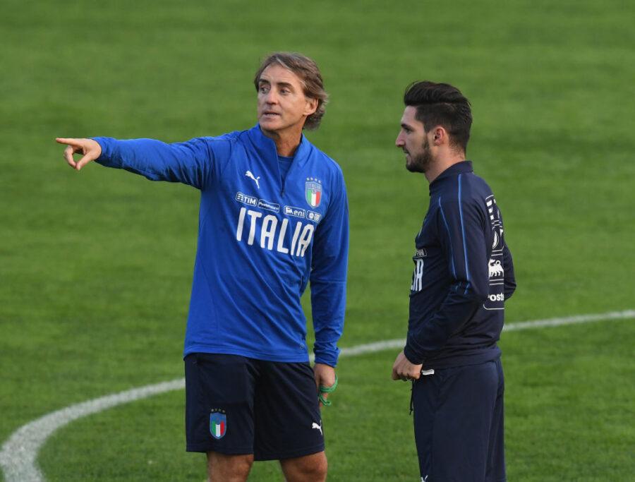 Italia, ecco i 33 pre-convocati di Mancini: out Caputo e Soriano, sì a Politano e Raspadori