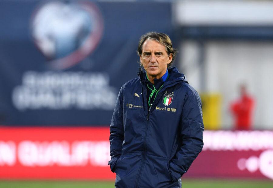 """Mancini: """"Pellegrini e Sensi avrebbero meritato l'Europeo. Formazione? Nulla è stato deciso"""""""