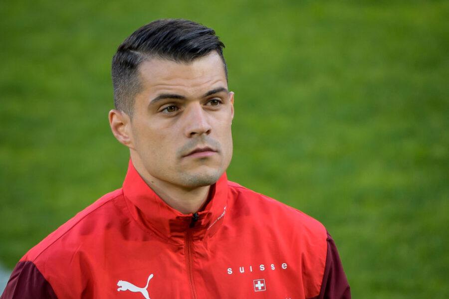 """Sky: """"Roma-Xhaka, non è ancora chiusa: farà il pazzo se l'Arsenal non lo vende"""""""