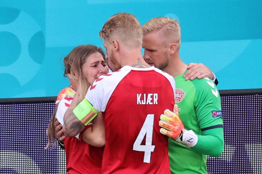 Kjaer, amico ed eroe per il suo compagno Eriksen: un vero capitano