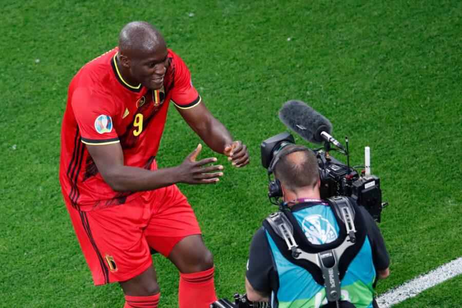 Lukaku, ecco l'esultanza dedicata a Eriksen: cosa ha fatto dopo il gol con il Belgio