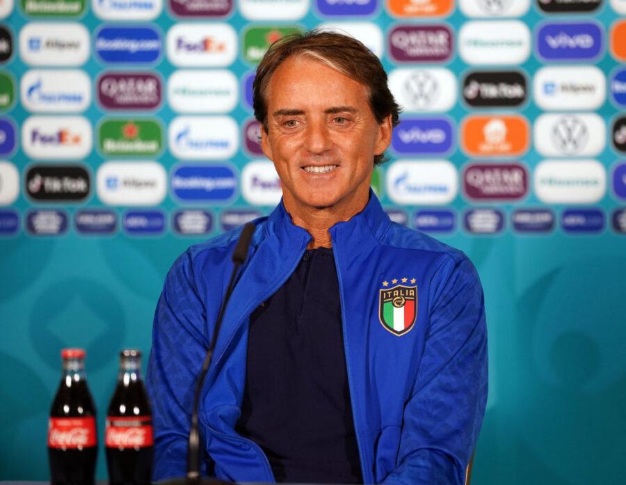 """Mancini annuncia: """"Verratti lo gestirò così, è titolare. Turnover? Vi dico chi può giocare domani"""""""
