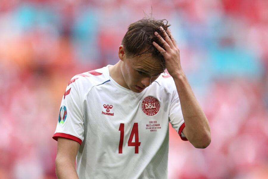 Incubo nazionali: infortunio anche per Damsgaard, scatta l'allarme nella Sampdoria