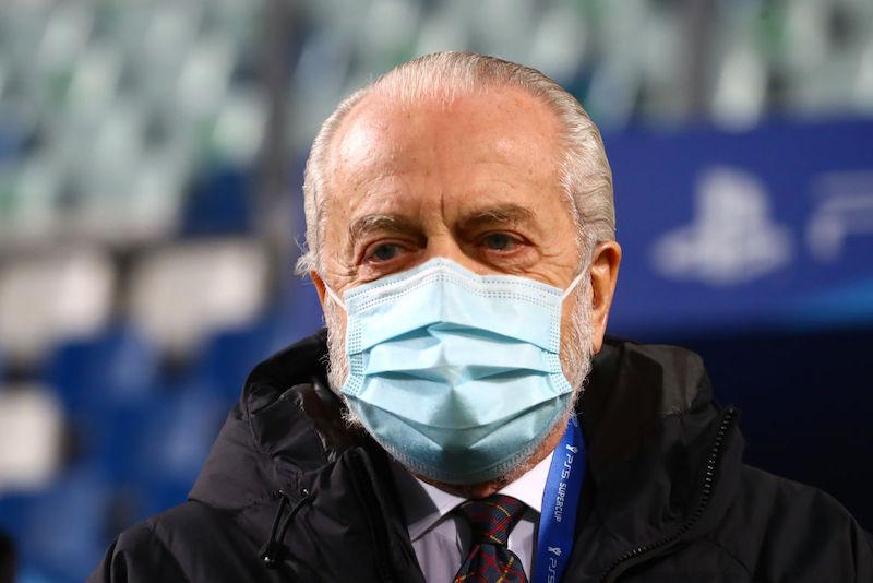 """De Laurentiis: """"Ho scritto all'Uefa per il caso di Osimhen e Ospina! E dico grazie a Spalletti"""""""
